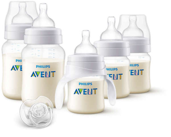 Комплект за новородено Classic + PP + тренировъчно шише